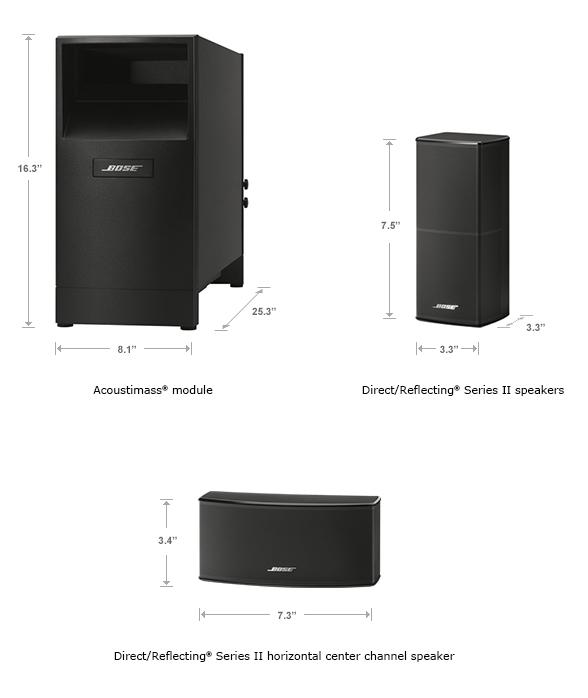 New Bose Acoustimass 10 Series V Home Theater Speaker