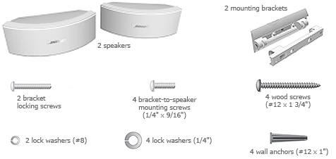 New Bose 151 Se Weatherproof Outdoor Speakers White