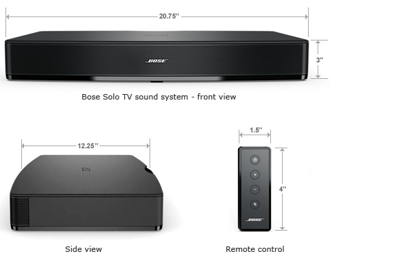 Bose 174 Solo Tv Sound System