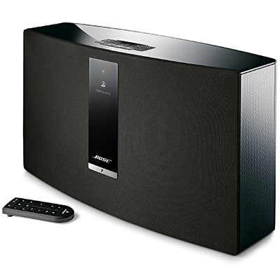 new bose soundtouch 30 wi fi wireless music system series iii black sound touch ebay. Black Bedroom Furniture Sets. Home Design Ideas