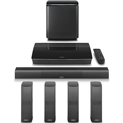 new bose lifestyle 600 home entertainm ent system theater soundtouch black ebay. Black Bedroom Furniture Sets. Home Design Ideas