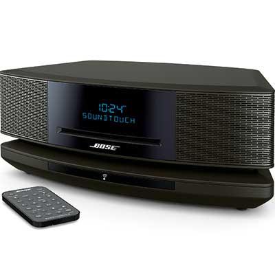 bose wave soundtouch music system iv remote cd player and radio espresso black ebay. Black Bedroom Furniture Sets. Home Design Ideas